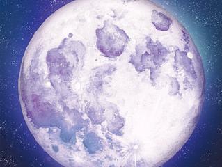 さあ!特別な水瓶座の満月です!