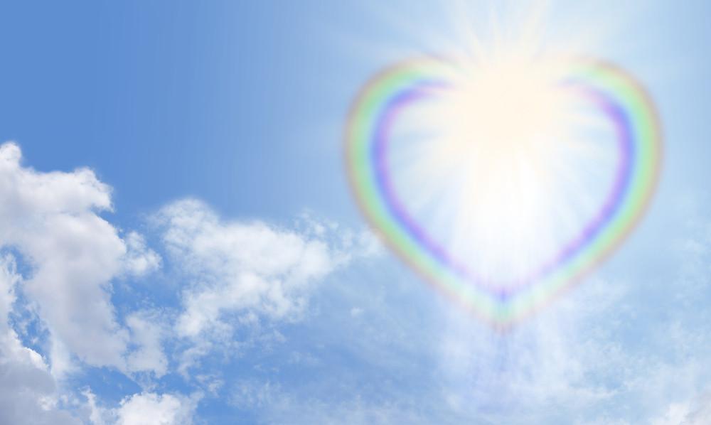 Heart Shaped Rainbow Blue Sky Banner.jpg
