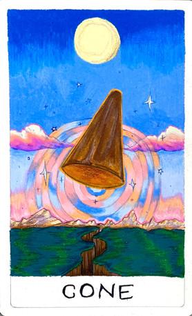 Cone Tarot Card