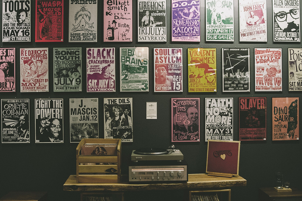 a picture of music art prints and posters