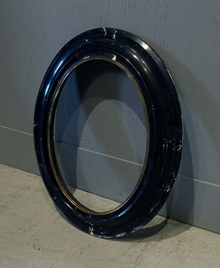 Picture Frame(Black Oval)     ピクチャーフレーム 17025