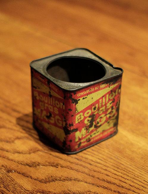 Tin Box | ブリキ缶 190208 - 09