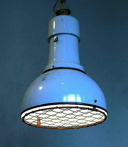 Industrial Pendant Light  |  インダストリアルペンダントライト 網付き 1301-007-GH