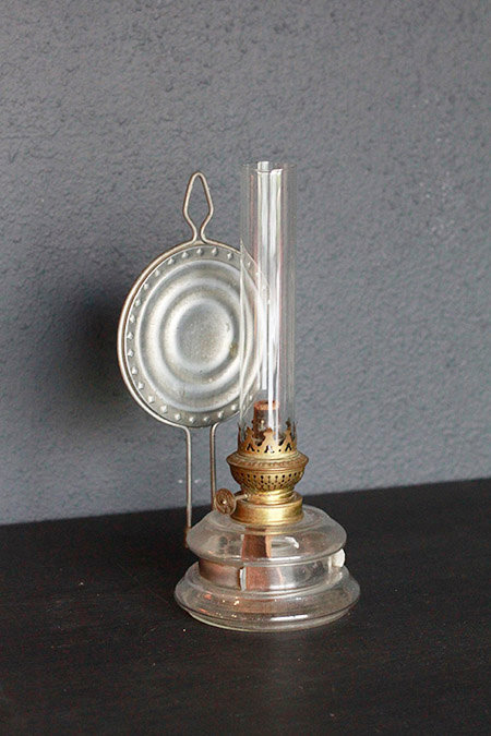 Oil Lamp with Refrector  |  反射板付オイルランプ 1301-031a
