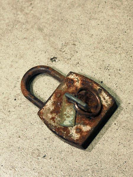 Padlock Key  |  パドロックキー