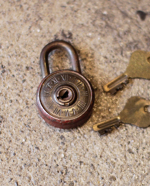 Padlock Key  |  パドロックキー 190196