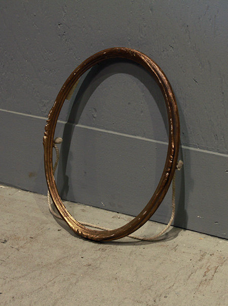 Picture Frame(Gold/Oval)  |  ピクチャーフレーム 17026