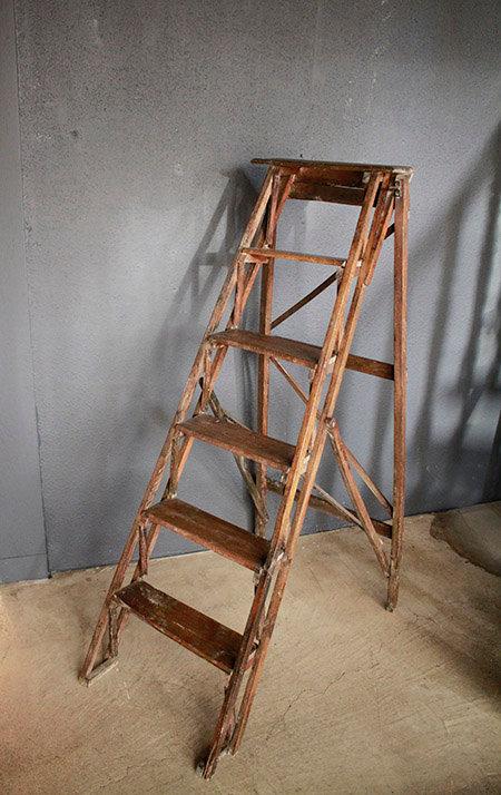 Ladder Wood  |  木製脚立 1301-120