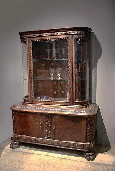 Belgium Glass Cabinet  |  ベルギーのガラスキャビネット 1301-082