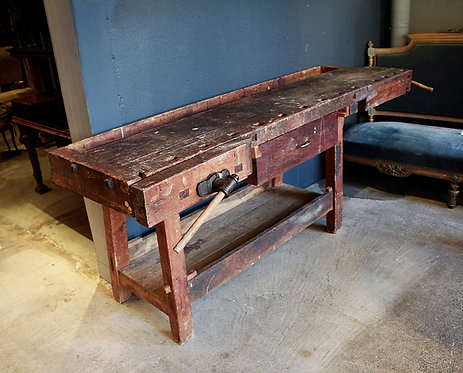 French Work Table   フランスの作業台 170625