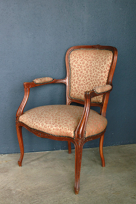 Louis XV Style Arm Chair  |  ルイXV スタイル アームチェア 1301-083