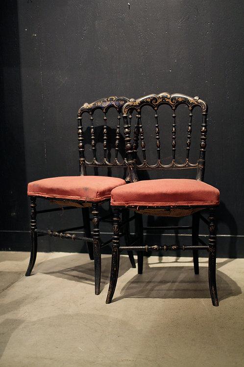Napoleon Chair Noir  |  ナポレオンチェアー ノアール190113  -14