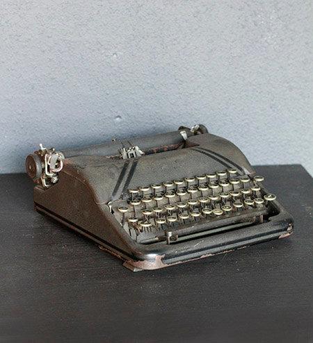 CORONA Typewriter  |  コロナ社タイプライター 16005