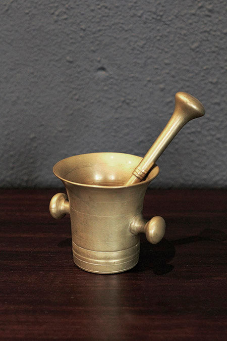 Brass Mortar  |  真鍮製擂鉢 1301-045c