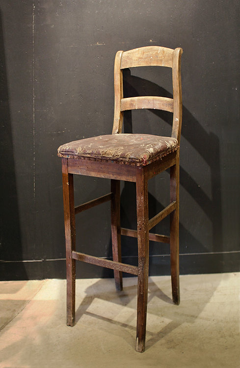 Wooden High Chair  |  ウッドハイチェア 190117