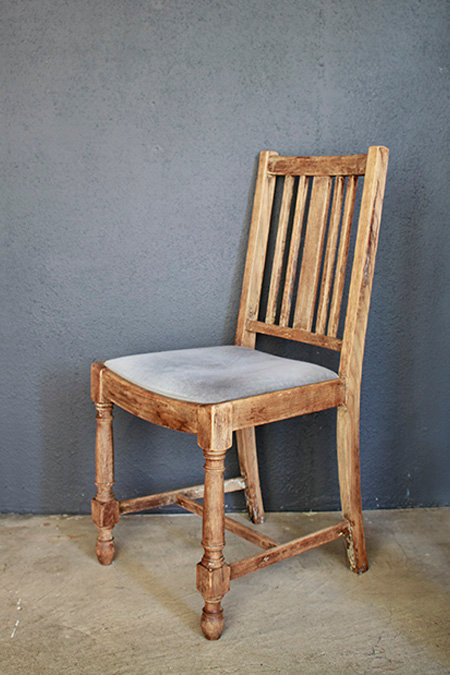 Wooden Chair_A  |  ウッドチェアA 1301-022
