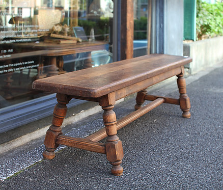 Wooden Bench  | ウッドベンチ 20025  - 20026