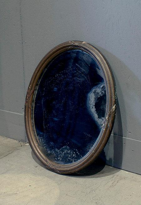 Oval Mirror Panel  |  オーバルミラーパネル 17022