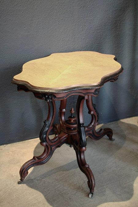 Antique Wooden Tea Table  |  アンティークティーテーブル 1301-085