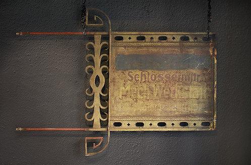 Steel Sign Panel | 鉄のサインパネル 1301-066