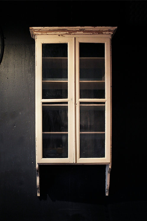Antique Wall Cabinet  |  キャビネット 190181