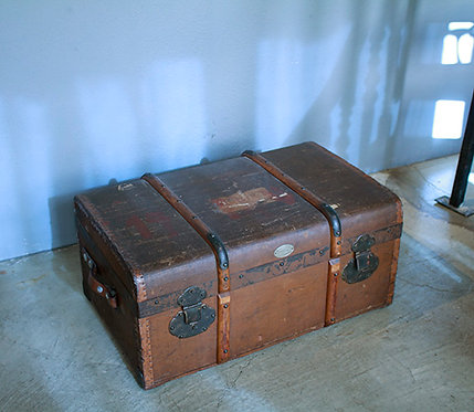 Antique Belguim Trunk  |  アンティーク トランク 1301-126