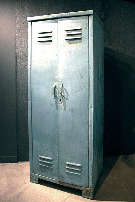 Industrial Locker (Blue)   |  インダストリアルロッカー 16025