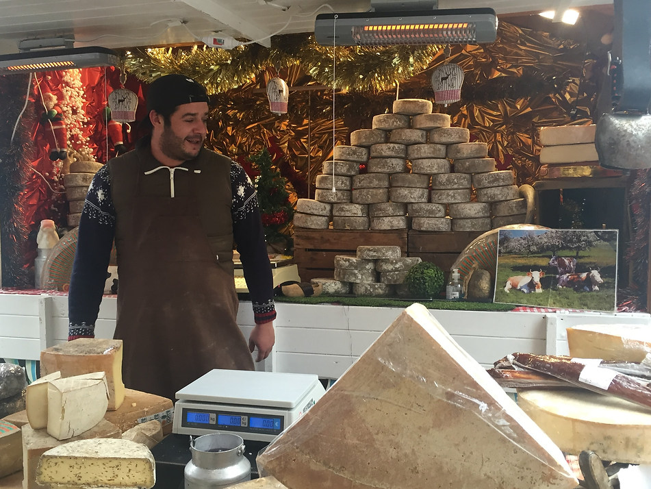 Lausanne, Switzerland Christmas Market