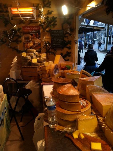 Paris, France Christmas Market