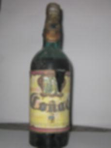 Botella coñac coleccionista