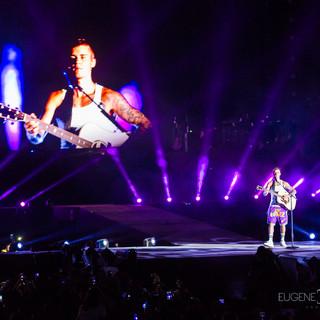 Justin Bieber Purpose Tour Dubai