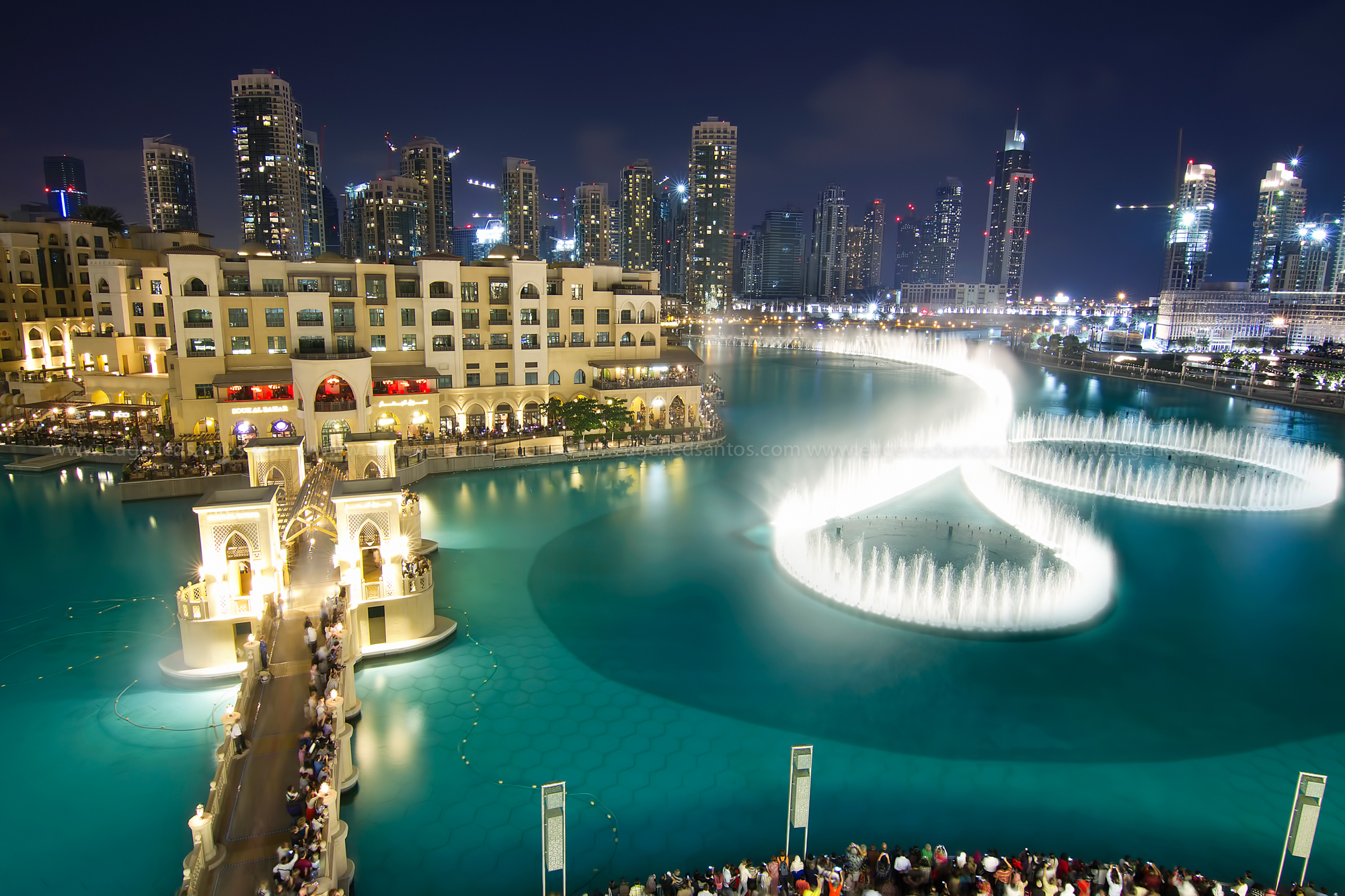 Dancing Fountain - Dubai Mall