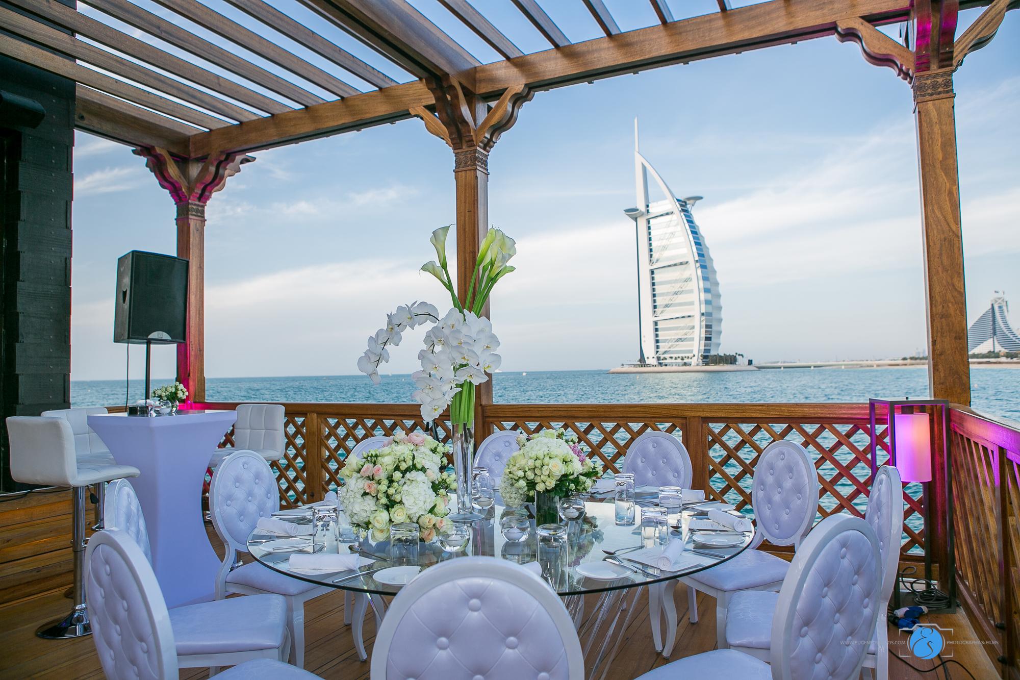 Burj Al Arab Wedding Set-up