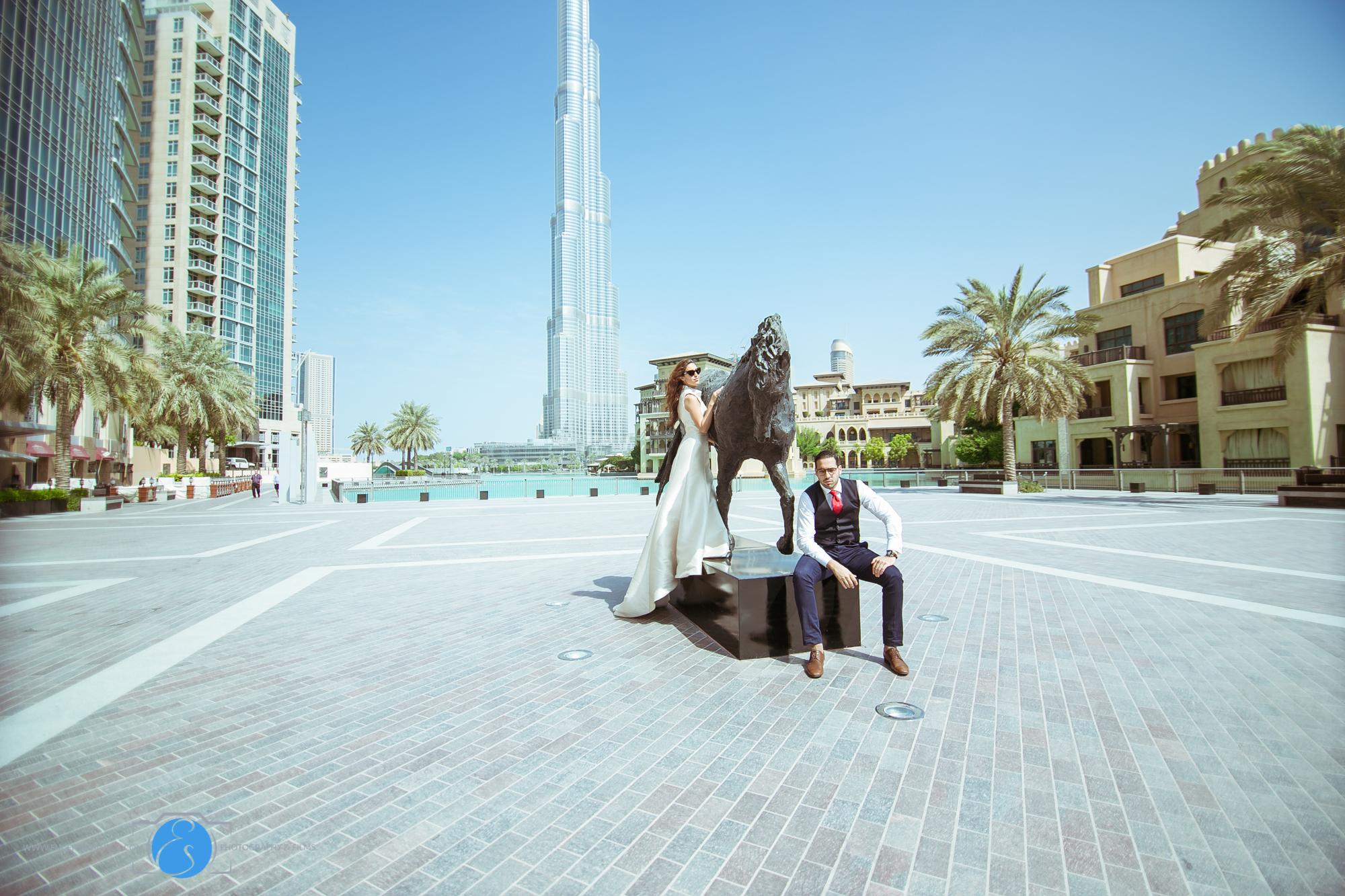 Downtown Burj Khalifa Prenup Shoot 2014-ES Photography-17.jpg