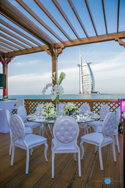 Burj Al Arab Wedding Set-up