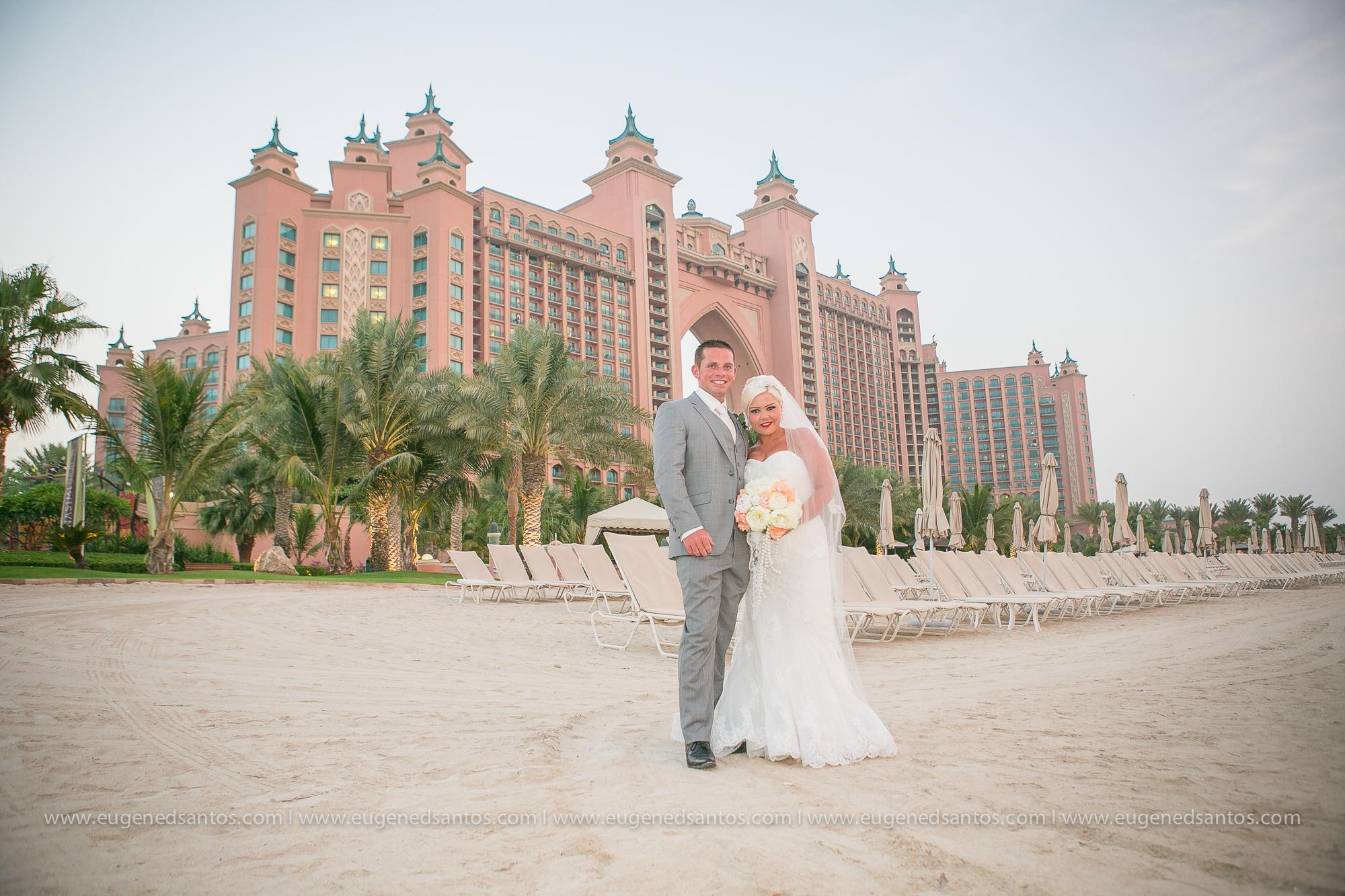 Atlantis The Palm Wedding