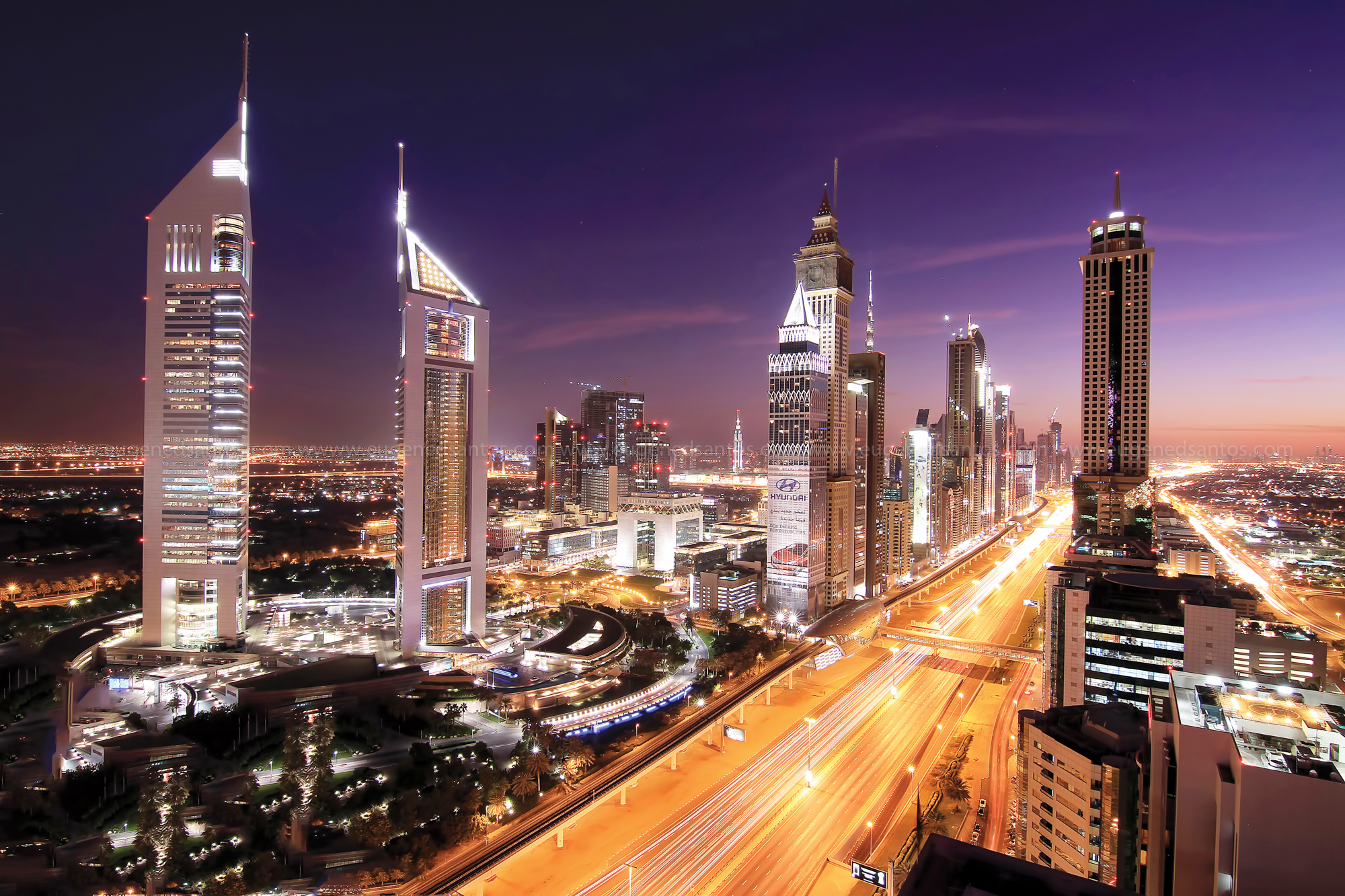 Shiekh Zayed Rd - Emirates Towers