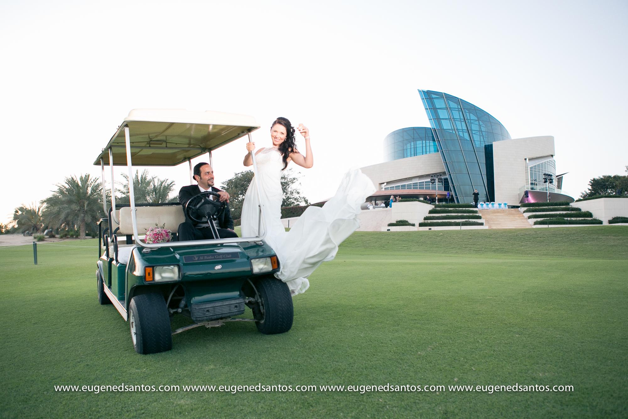 Al Badia Golf Club Wedding