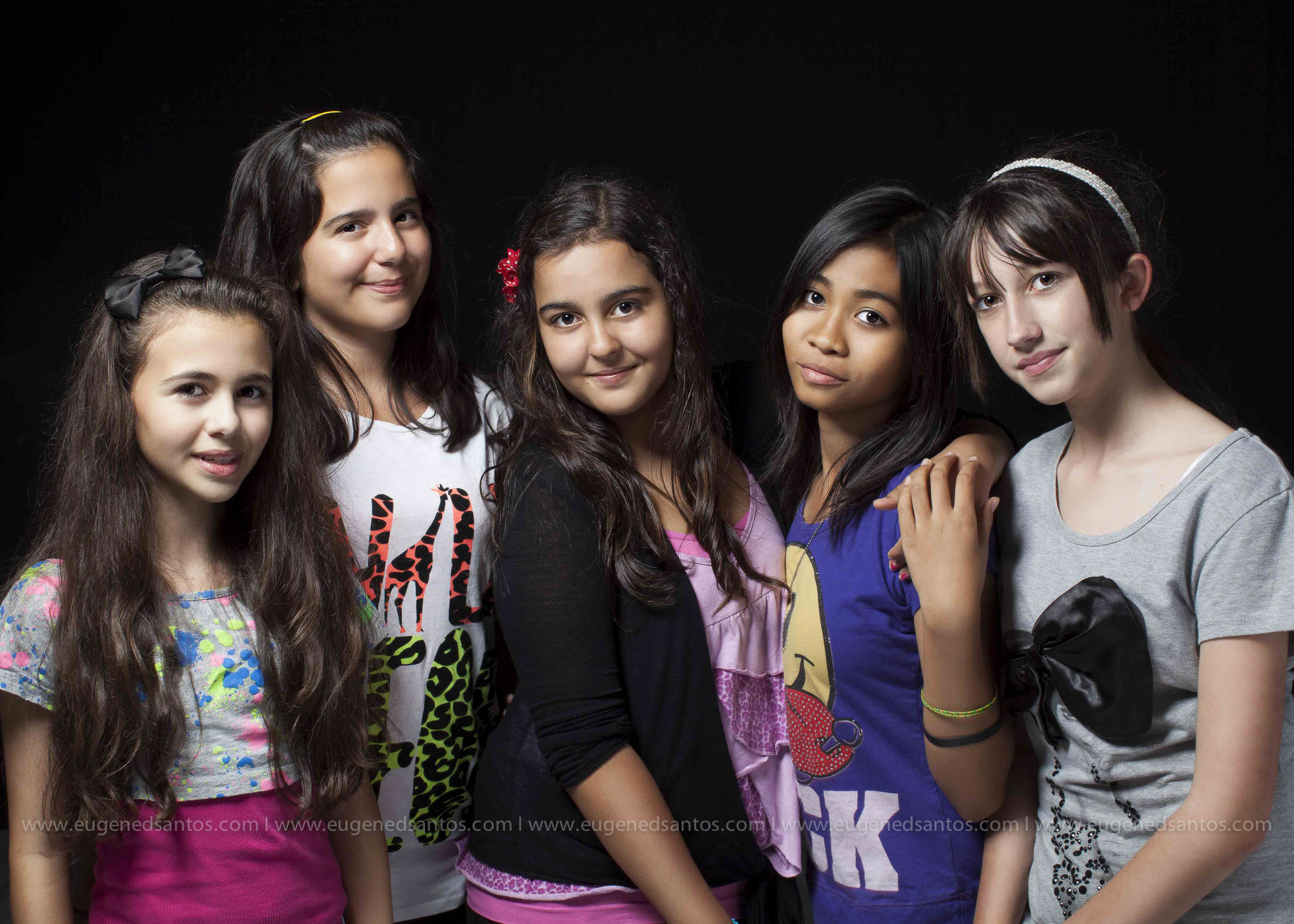 Group Teens Portrait