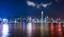 Hongkong City Skyline