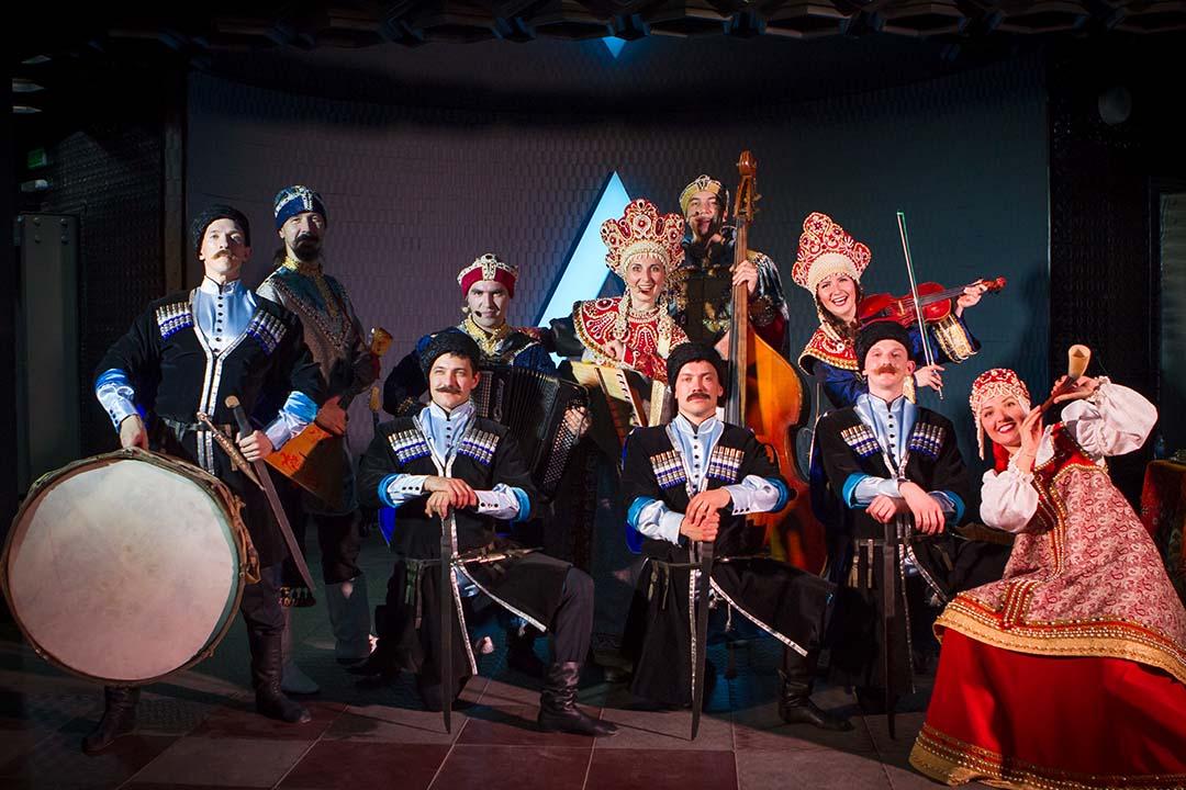 казачий ансамбль на свадьбу