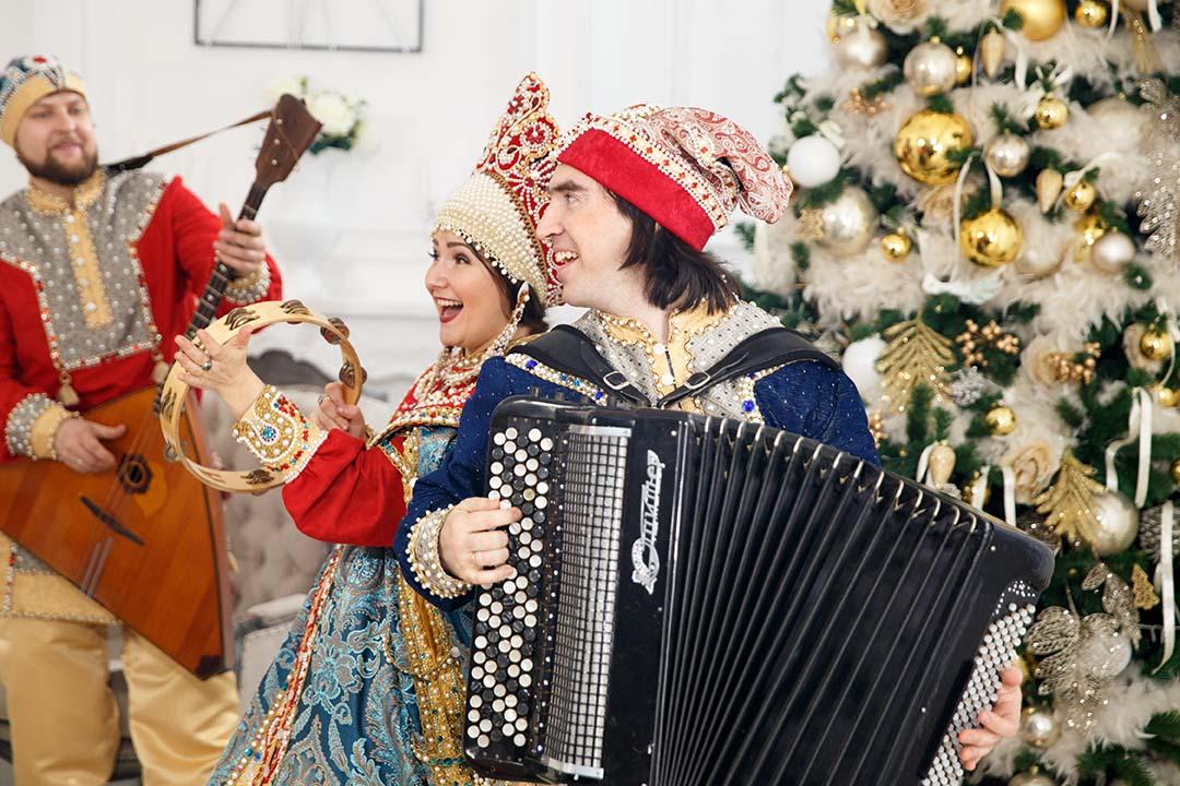 русское шоу на новый год