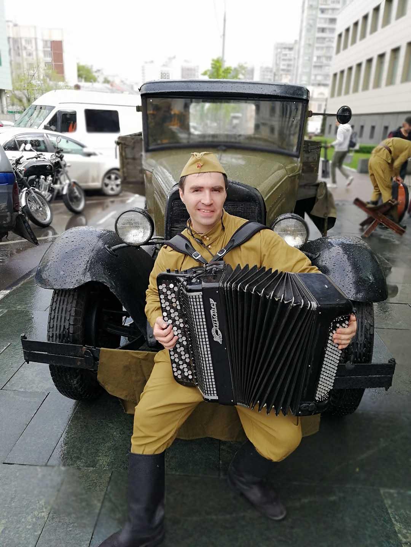 музыканты на день победы