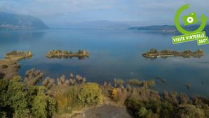 Le sud du lac en visites virtuelles depuis le ciel : c'est par ici !
