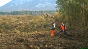 Timelapses : les travaux avancent vite au sud du lac du Bourget !