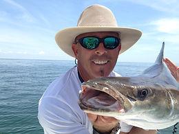 fishdaddy with a cobia