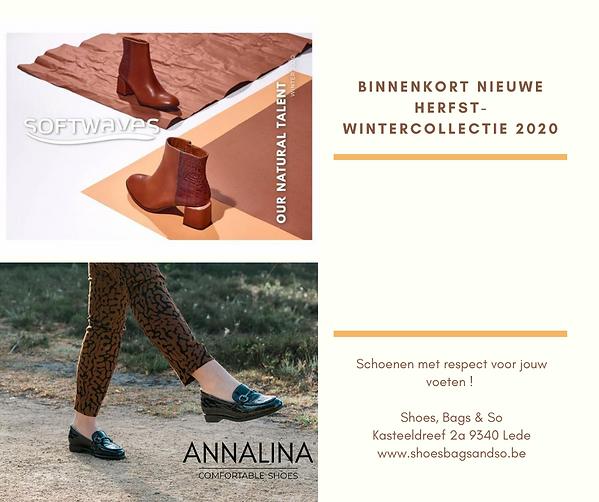 BINNENKORT NIEUWE HERFST- WINTERCOLLECTI