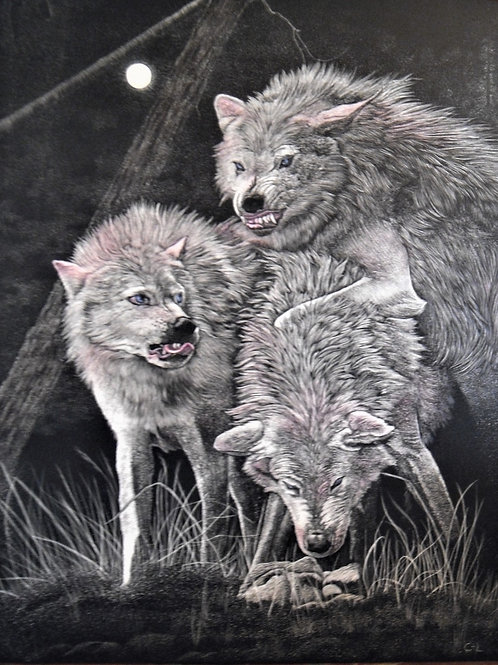 """Out Of The Mist / Three Wolves"""