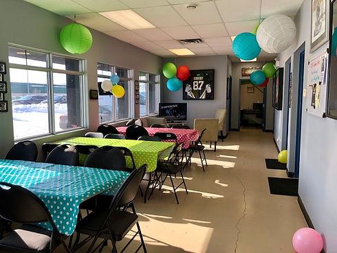 Mini Rink Birthday Party