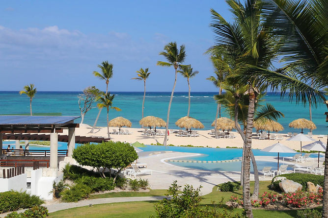 Negative Edge Pool and Private Beach at Punta Palmera